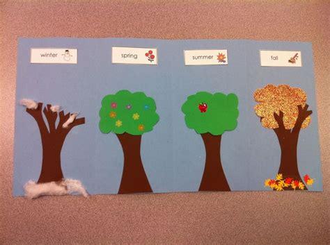 crafts kindergarten four seasons craft for preschool kindergarten let s
