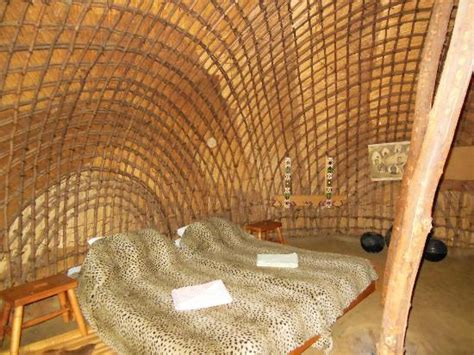 inside our handmade reed house picture of ecabazini zulu