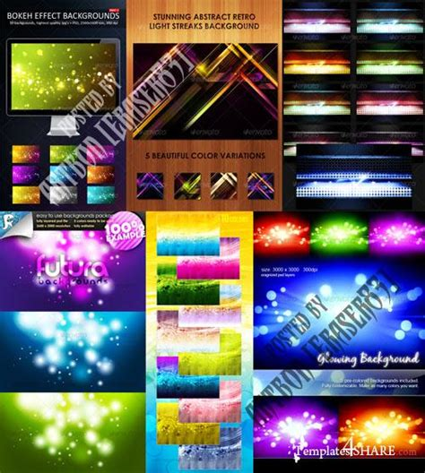 colorful wallpaper pack graphicriver colorful abstract backgrounds pack 6