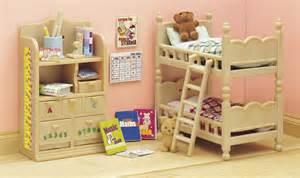 sylvanian childrens bedroom set sylvanian families children s bedroom set toy at