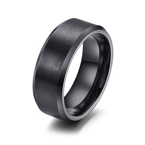 Skun O Ring Vf 55 10 6 Mm 240 1291 vnox 316l stainless steel ring 8mm black us523