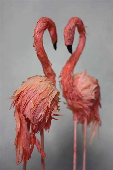 How To Make A Flamingo Out Of Paper - sweet things wood handmade