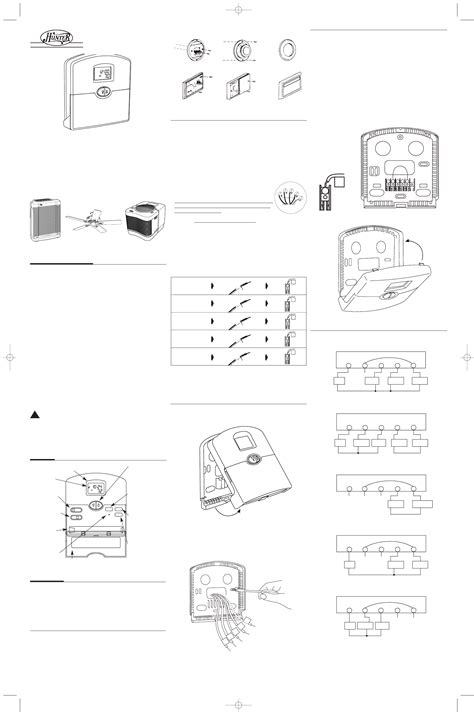 hunter fan company thermostat hunter 44110 wiring diagram 27 wiring diagram images