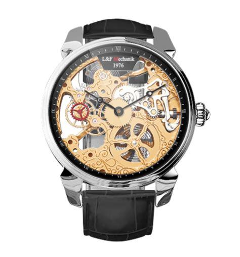 Uhr Mit Sichtbarem Uhrwerk by Skelettuhr L F Purist Iii Skelettuhren Mit Sichtbarem Uhrwerk