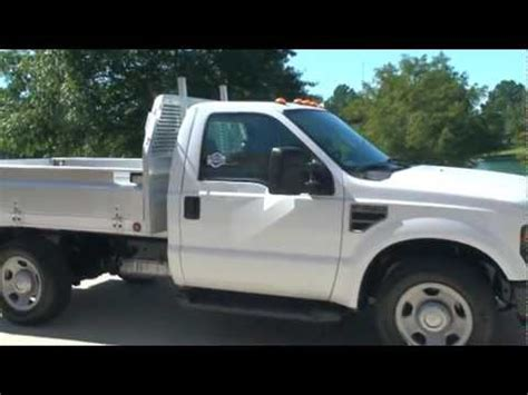 ford f350 truck bed for sale 2008 ford f350 xl v8 work truck utility aluminum bed for
