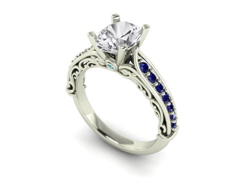 unique engagement rings rings unique