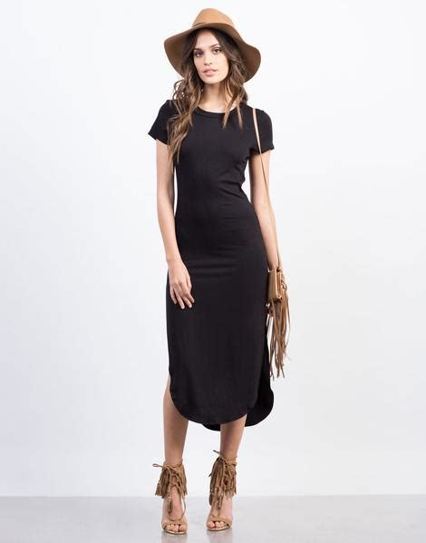 Simply Midi Dress simple midi dress black dress day dress 2020ave