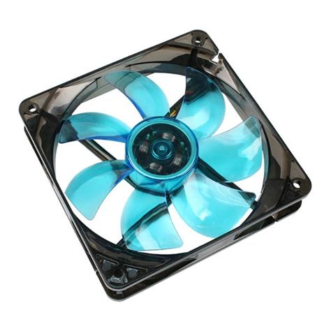 120 x 120 x 25mm fan cooltek silent fan 120 blue led 120 x 120 x 25 mm