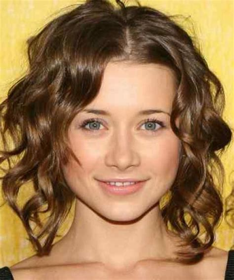 medium length naturally curly haircuts for round faces perfect hairstyles for medium length hair the hairstyle