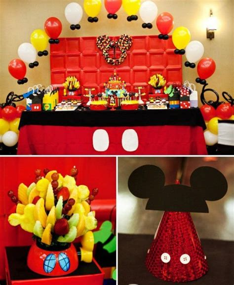 Mickey Mouse Birthday Decorations by Some Awesome Birthday Ideas The Mickey Mouse