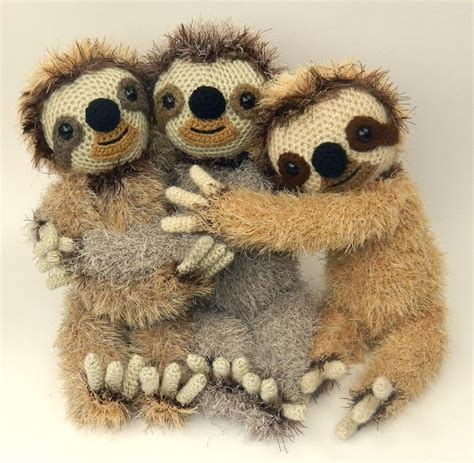 knitted sloth 17 best images about amigurumi sloths on