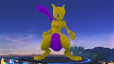 Bros Gold Purple Purple by Gold And Purple Mewtwo Smash Bros For Wii U Skin Mods