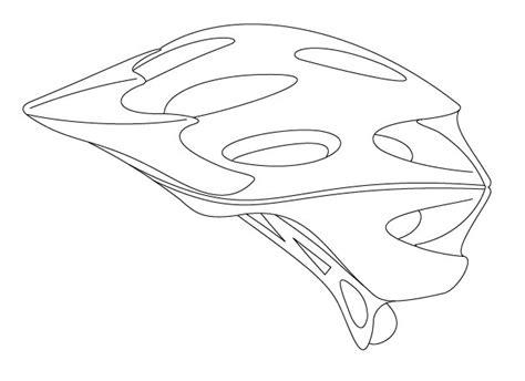 design a cycle helmet template bike helmet drawing at getdrawings com free for personal