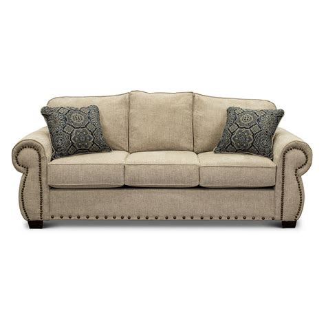 Traditional Sofa Beds by Casual Traditional Canvas Sofa Bed Southport Rc