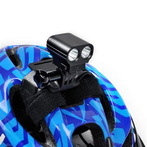 mountain bike helmet light mini bike led headlight with usb battery pack
