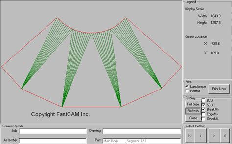 pattern development in drawing fastshapes sheet metal plate software cad unfolding