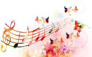 melody music symbols art wallpaper for desktop and mobile
