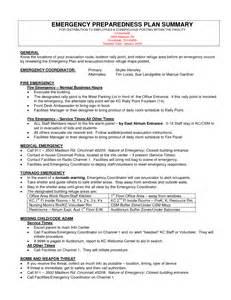 disaster preparedness plan template bestsellerbookdb