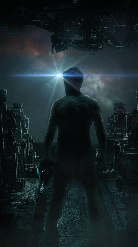 tony stark space avengers endgame iphone wallpaper