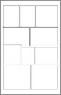 comic book panel layout