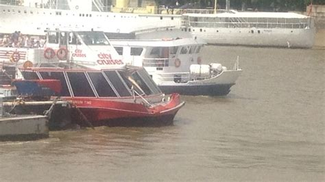 thames river boat accident i thought was going to die says thames crash passenger