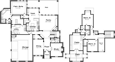 trapp and holbrook floor plans holbrook texas best house plans by creative architects