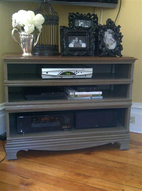 Dresser Stand by Brick Home Dresser Turned Tv Stand