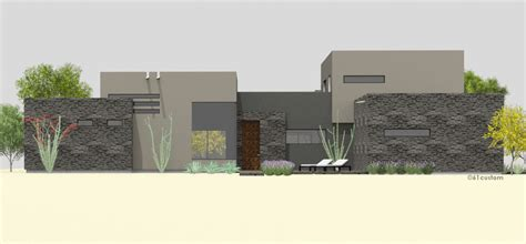luxury modern courtyard house plan courtyard60 luxury modern courtyard house plan