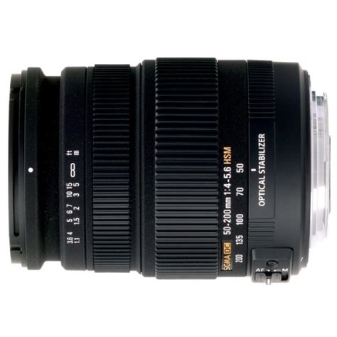 Processor Sonic Sigma 6 review lenses product sigma 50 200mm f 4 0 5 6 dc if sld optical stabilized os lens with