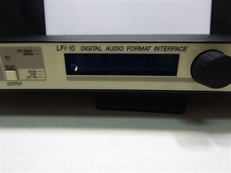 format audio digital lexicon lfi 10 digital audio format interface reverb