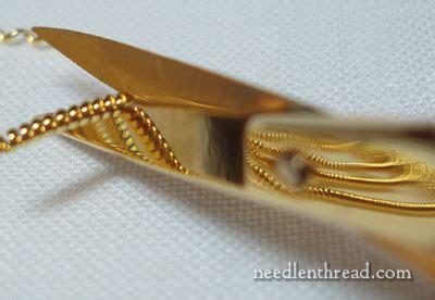 Scissor Finally Get A Well Earned by Remember Those Goldwork Scissors Needlenthread