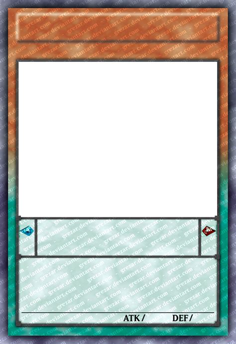 yu gi oh anime card templat w i p pendulum card template by grezar on deviantart