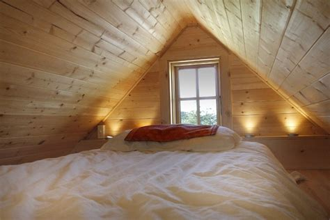 small house with loft bedroom living single this tiny house might be for you