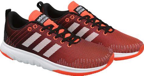Adidas Cloudfoam Flex Black White Original Running Shoe For Mens adidas neo and black
