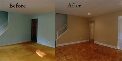 interior house paint before after peachtree paint and remodel networx