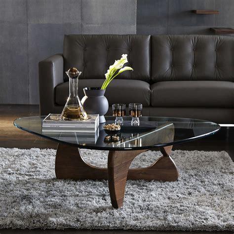vitra noguchi coffee table walnut at lewis