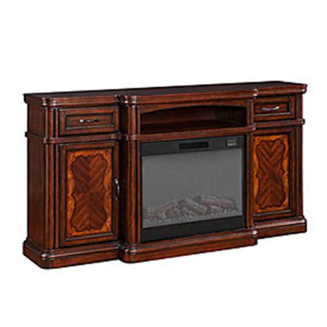 view 72 quot cherry media electric fireplace deals at big lots