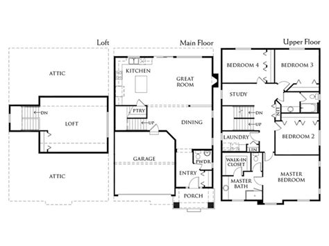 bradford floor plan bradford 3750 westridge edgewood washington d r horton