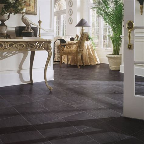 Slate Style Laminate Flooring by 18 Laminate Tile Flooring Designs Ideas Design Trends