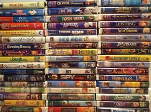 too old to buy a house 1 walt disney vhs movies lot clamshell tapes classic