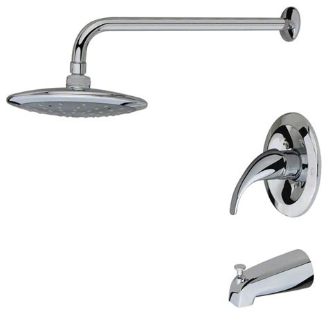 bathtub faucet sets 750 3 piece rain head shower set transitional tub and