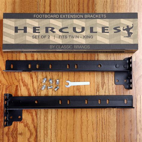 Footboard Extension Brackets by Hercules Footboard Extension Brackets Set Of 2 127010