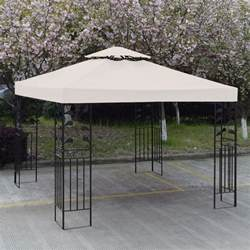 Canopy Tops For Gazebos by Convenience Boutique Outdoor 10 X 10 Patio Canopy Gazebo
