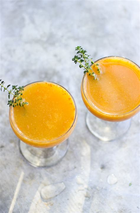 naturally sweetened roasted persimmon punch cocktails