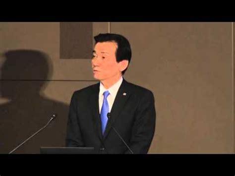 東芝が米原発子会社の損失開示遅れで会見 - YouTube Y 068
