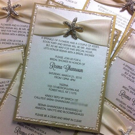 Destination Wedding Bridal Shower Invitations by 1000 Ideas About Bridal Shower Invitations On