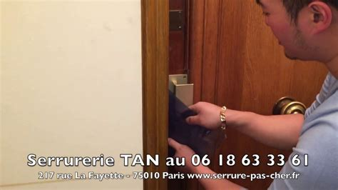 ouvrir porte avec clef 224 l int 233 rieur rayon braquage