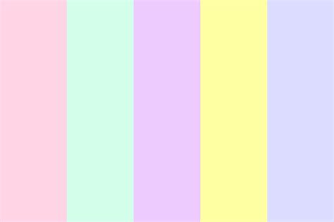 pastel colours pastels color palette