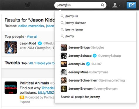 Search Tweets Simpler Search Blogs
