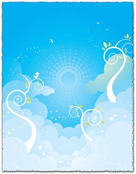 design background sky blue blue sky background vector eps design
